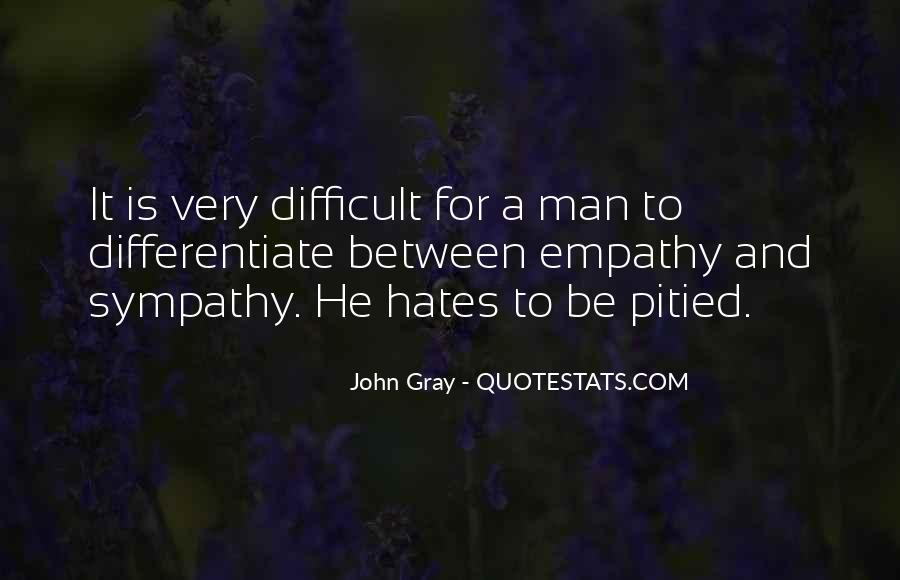 Quotes About Empathy Vs Sympathy #461654