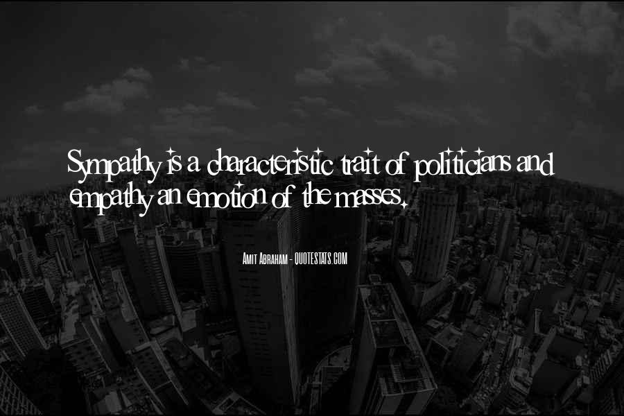 Quotes About Empathy Vs Sympathy #660560