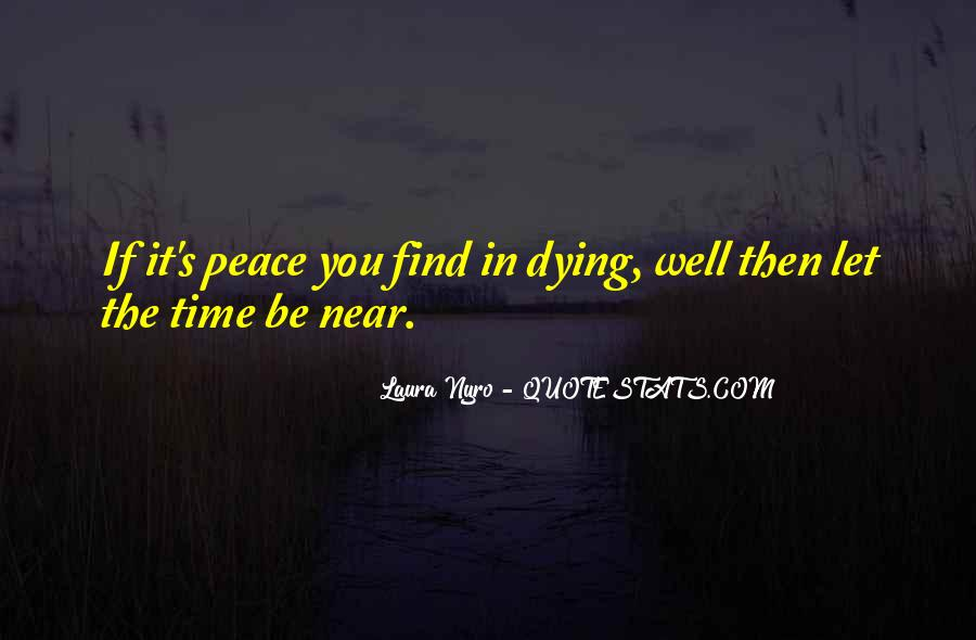 Quotes About Near Death #208973