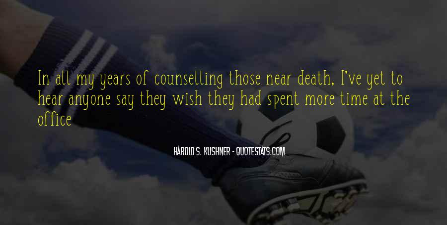 Quotes About Near Death #401701