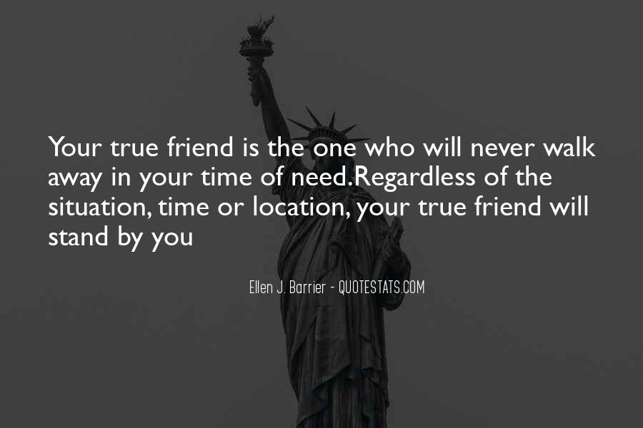 Quotes About Time Of Friendship #208674