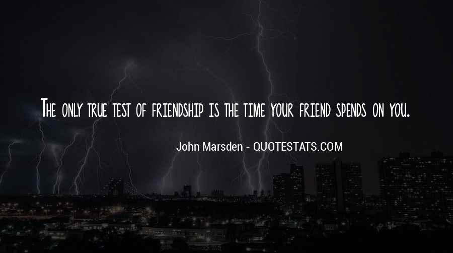 Quotes About Time Of Friendship #254128
