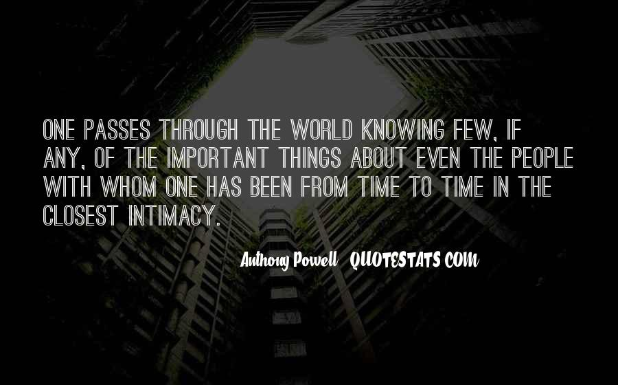 Quotes About Time Of Friendship #658434