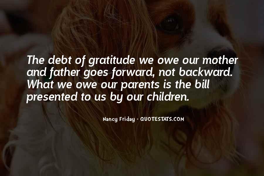 Quotes About Gratitude For Parents #1037551