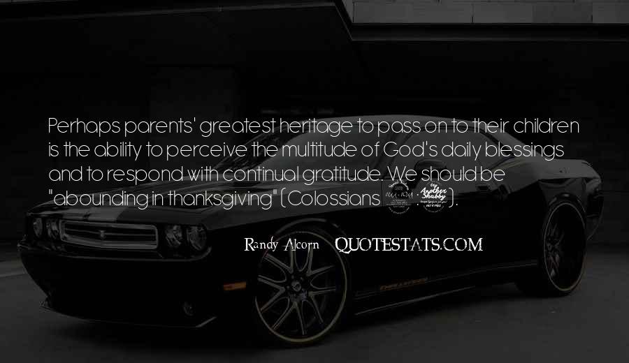 Quotes About Gratitude For Parents #465373