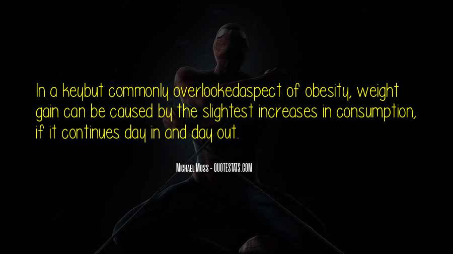 Quotes About Weight Gain #1107377