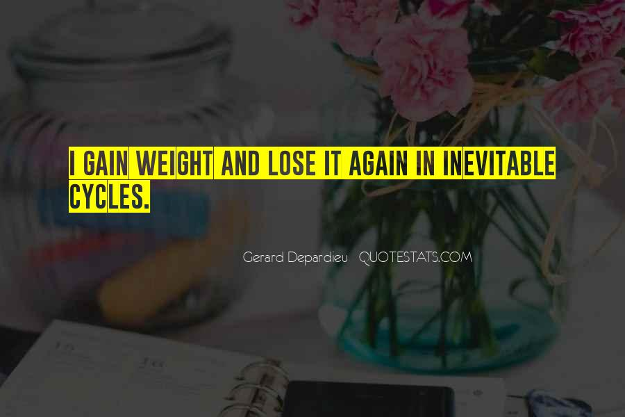 Quotes About Weight Gain #134233