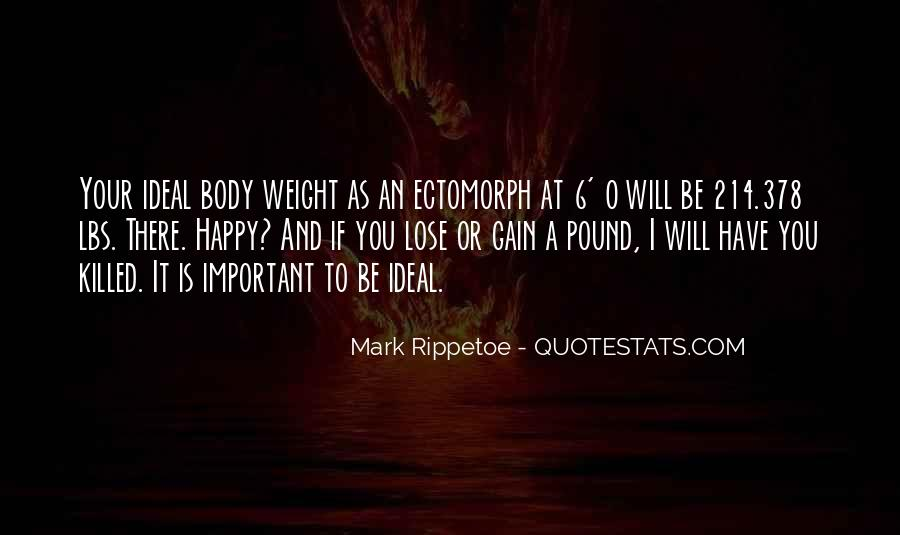 Quotes About Weight Gain #1465404