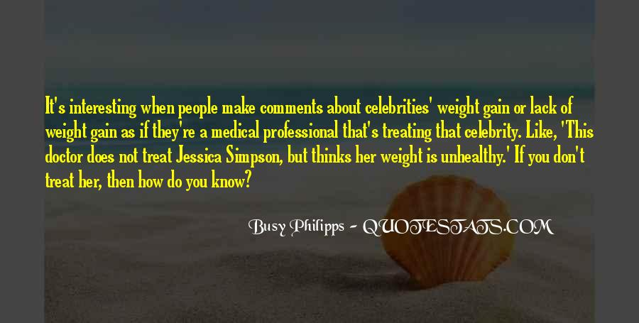 Quotes About Weight Gain #1553693