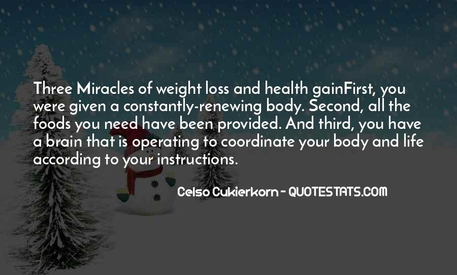 Quotes About Weight Gain #1614844