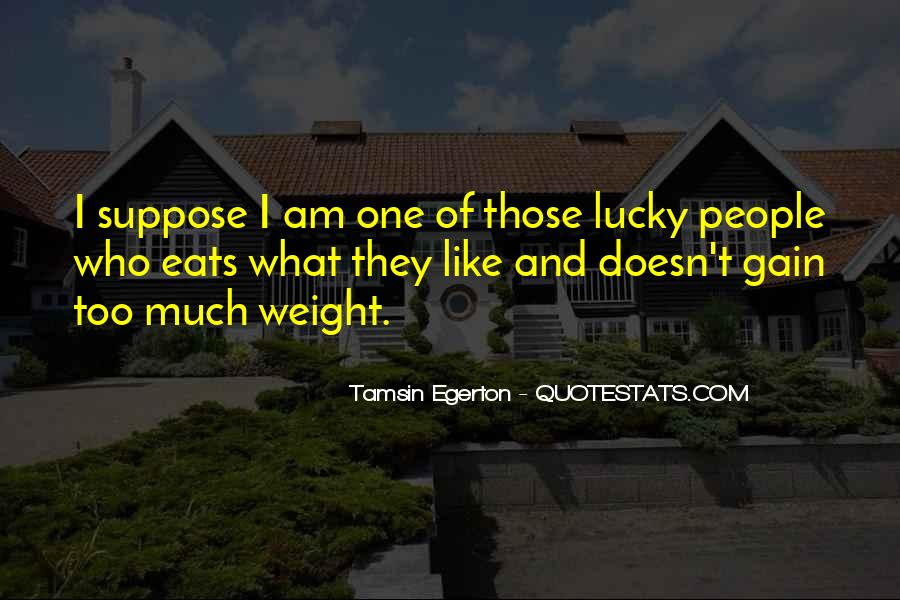 Quotes About Weight Gain #184661