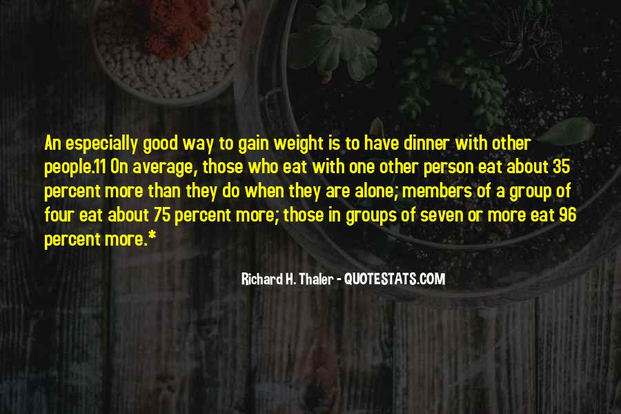 Quotes About Weight Gain #200547