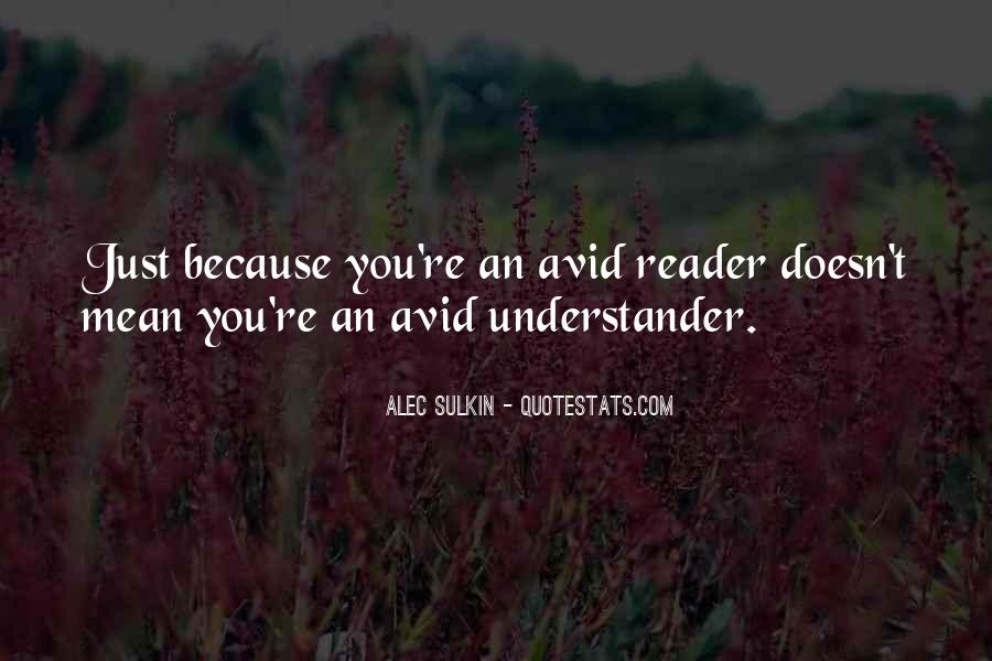 Quotes About Avid #1290945