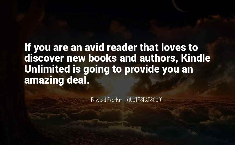 Quotes About Avid #827247