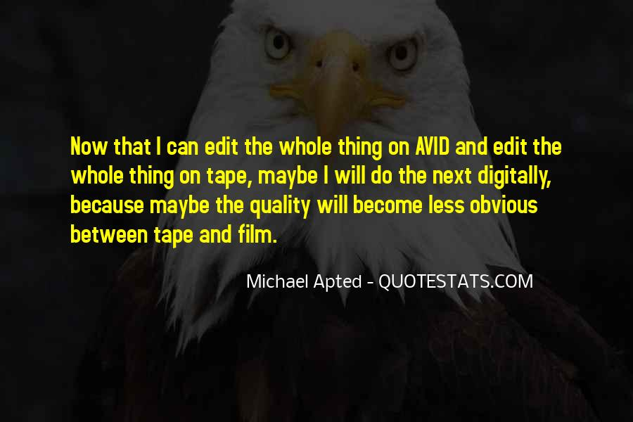 Quotes About Avid #914124