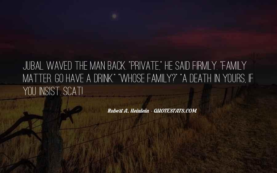 Quotes About A Death In The Family #1223957