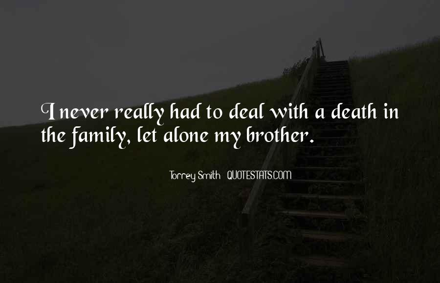 Quotes About A Death In The Family #1229079