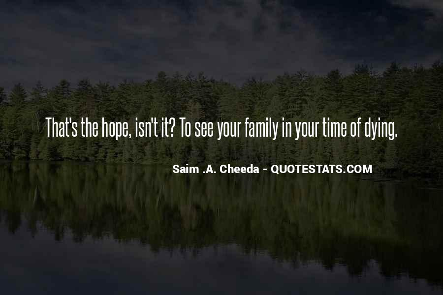 Quotes About A Death In The Family #1239723