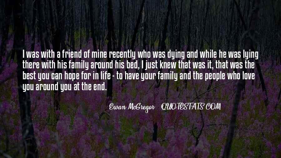 Quotes About A Death In The Family #1573687