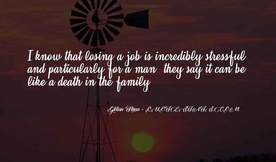 Quotes About A Death In The Family #1762237