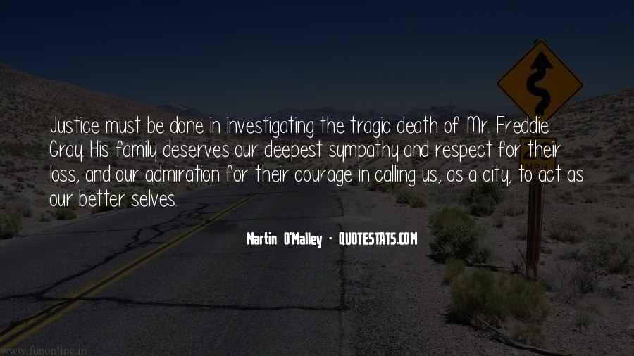 Quotes About A Death In The Family #230959