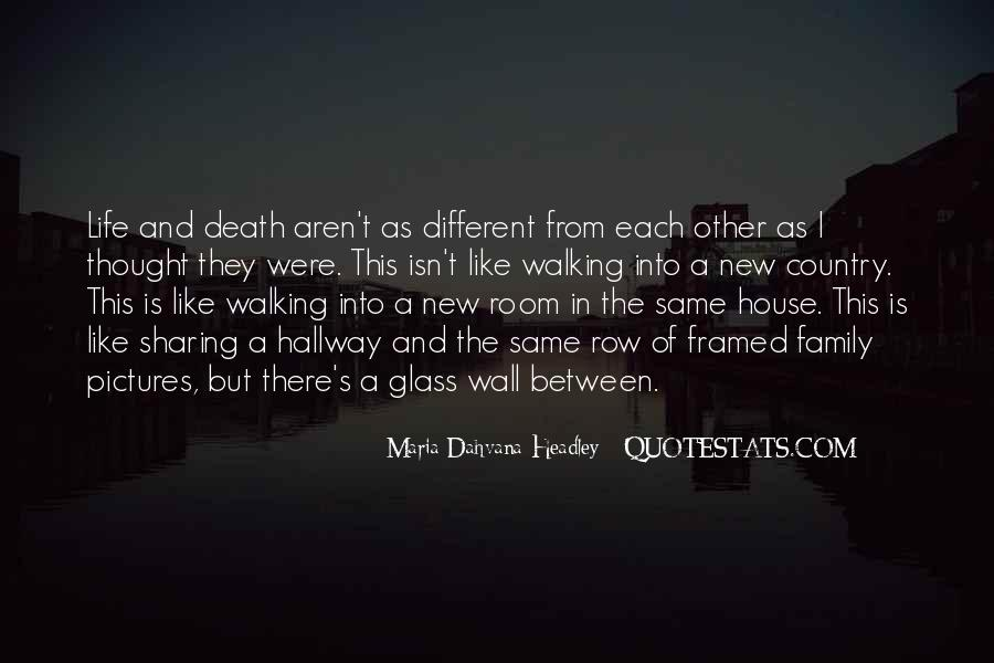 Quotes About A Death In The Family #419339