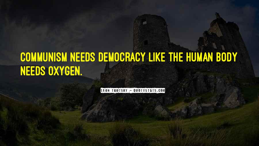 Quotes About Democracy And Communism #1006426