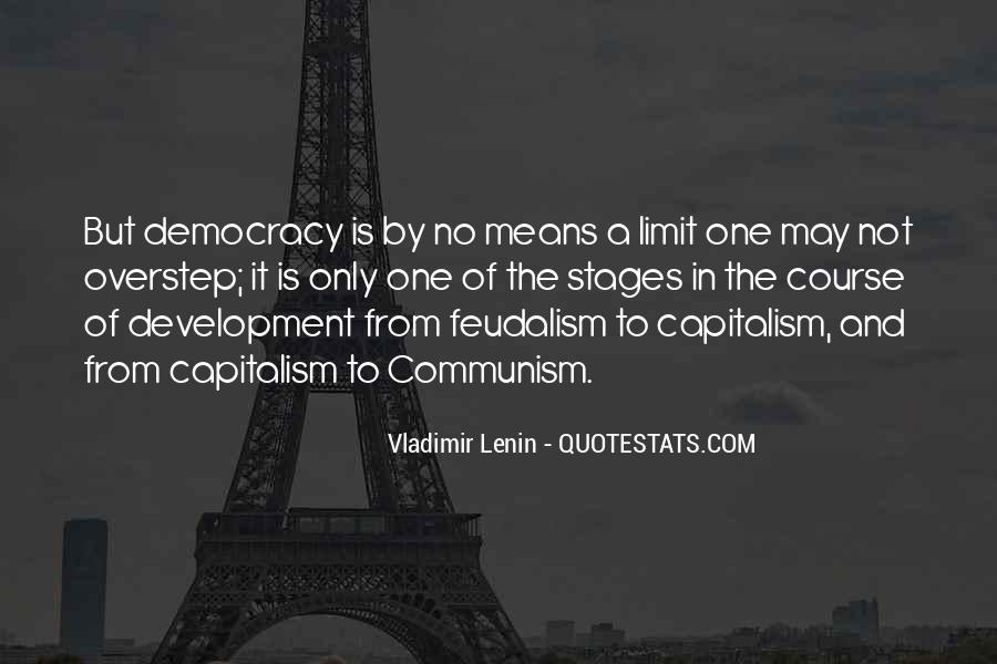 Quotes About Democracy And Communism #1524277