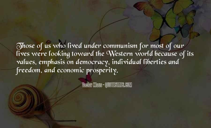 Quotes About Democracy And Communism #495731