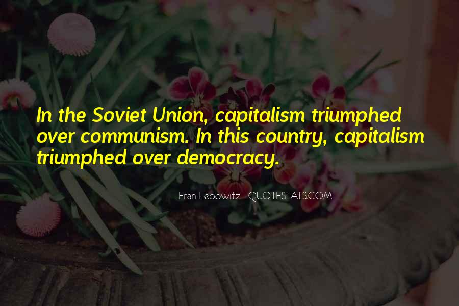 Quotes About Democracy And Communism #527370