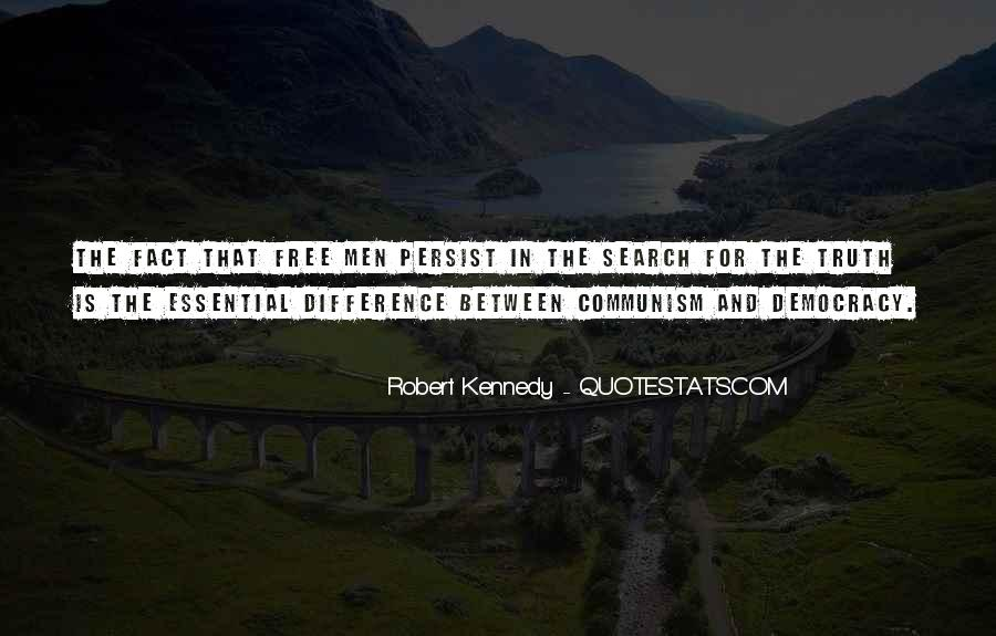 Quotes About Democracy And Communism #557855