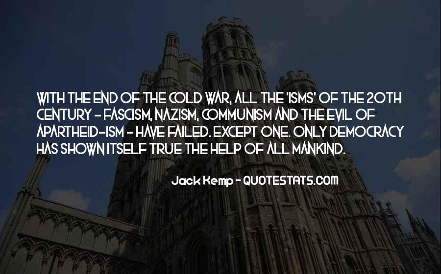 Quotes About Democracy And Communism #995371