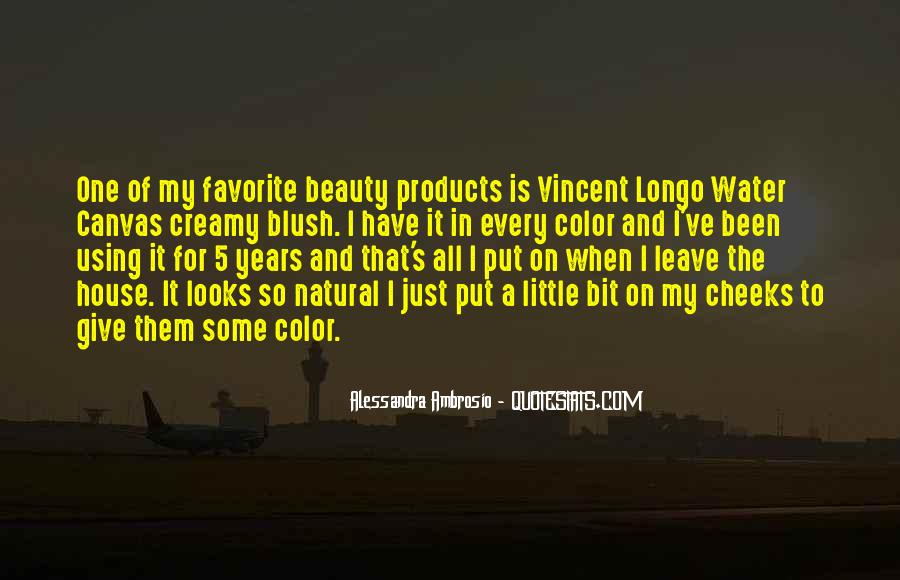 Quotes About Beauty Products #1546145