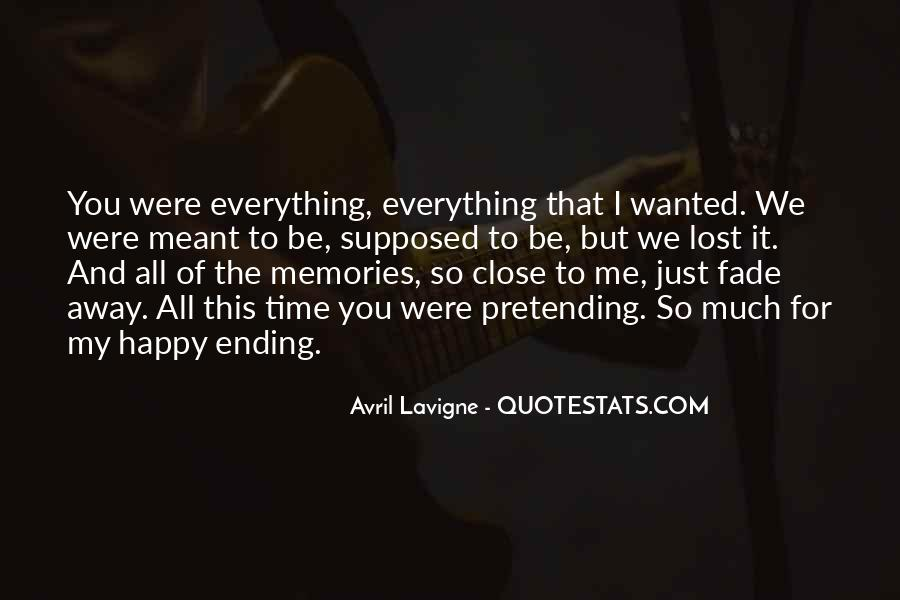 Quotes About Pretending To Be Happy #1810674