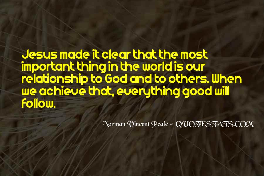 Quotes About A Good Relationship With God #1509092