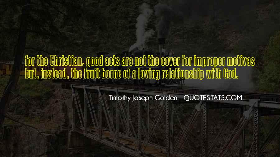 Quotes About A Good Relationship With God #1775296