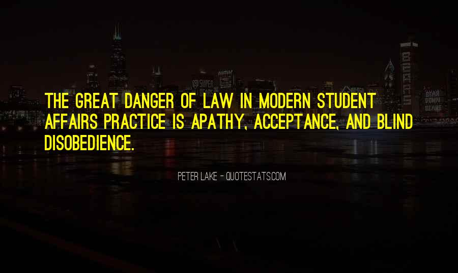 Quotes About Student Apathy #345048