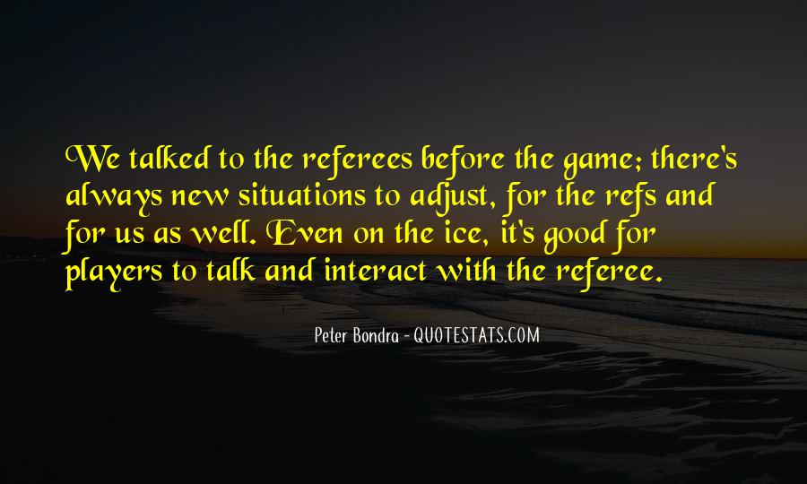Quotes About Refs #850716