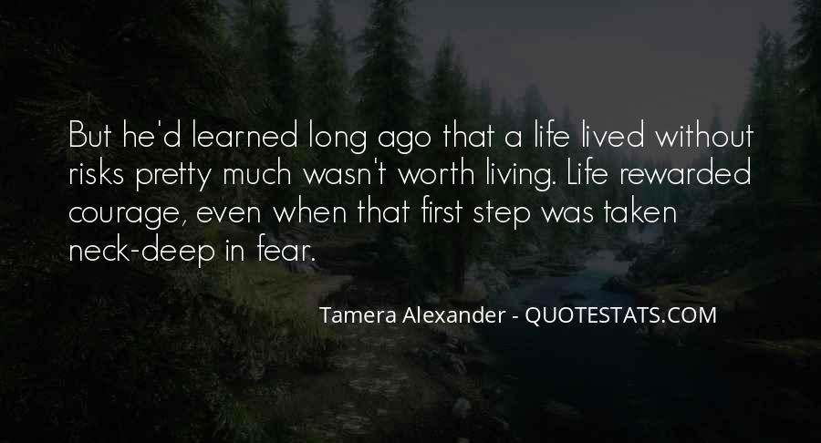 Quotes About Living Without Fear #938404