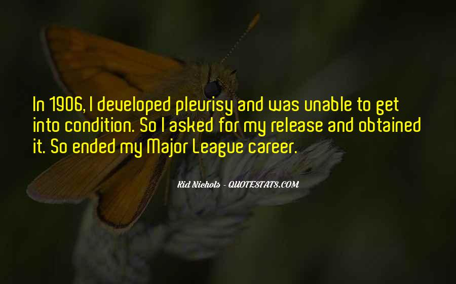 Quotes About Pleurisy #783490