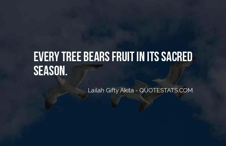 Quotes About Trees And Wisdom #1041526