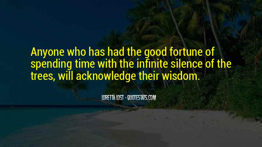 Quotes About Trees And Wisdom #1067577