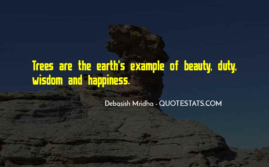 Quotes About Trees And Wisdom #845903