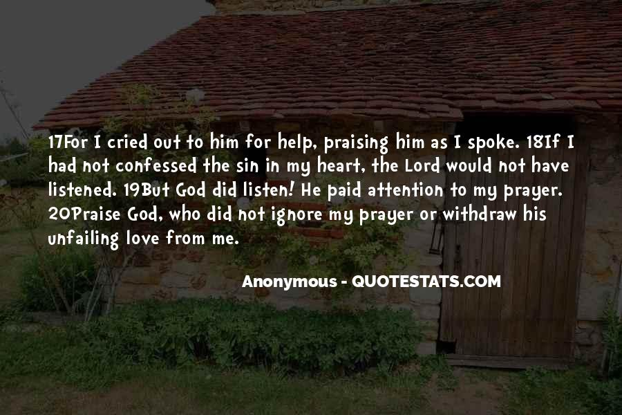 Quotes About Help From God #1079014