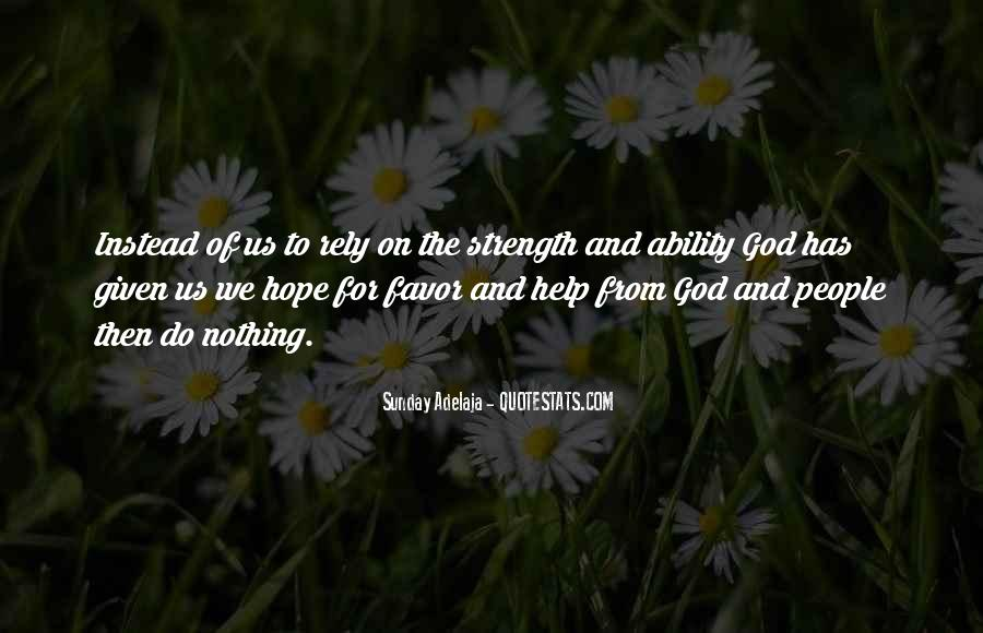 Quotes About Help From God #1334066