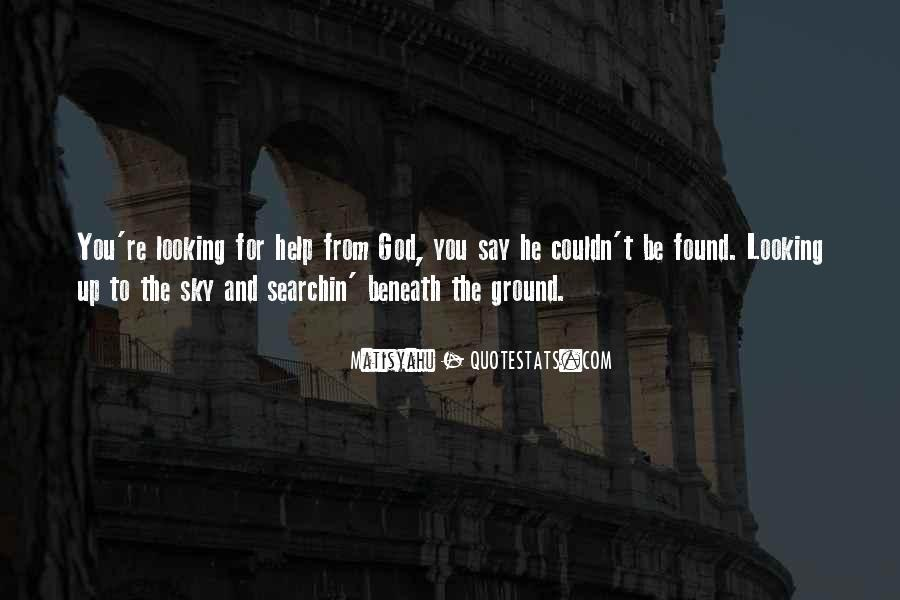 Quotes About Help From God #35246