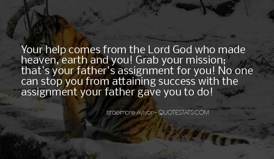 Quotes About Help From God #951214