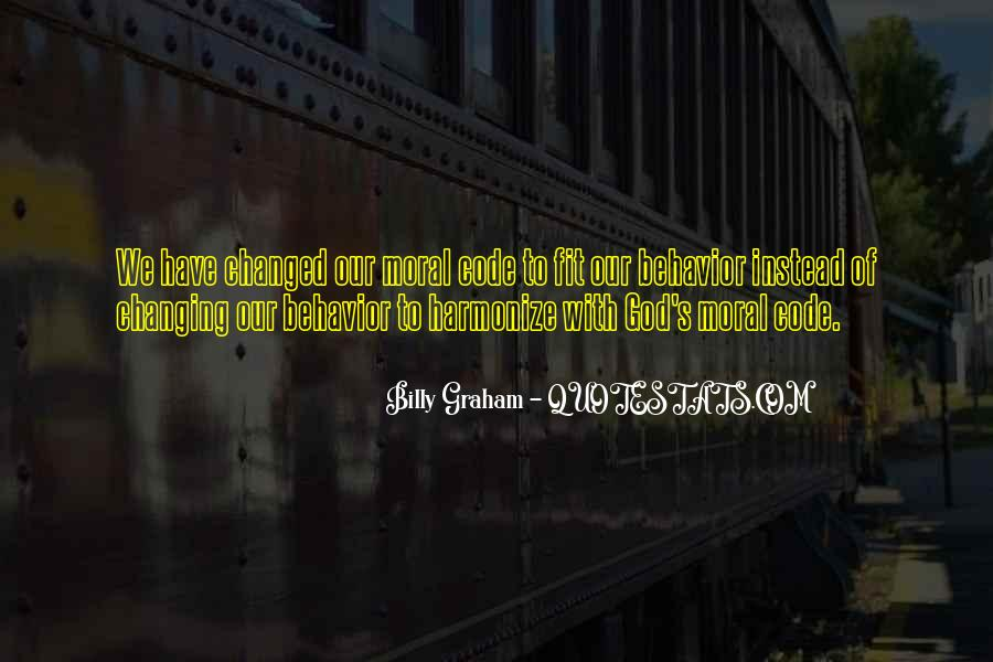 Quotes About Changing Behavior #1051456