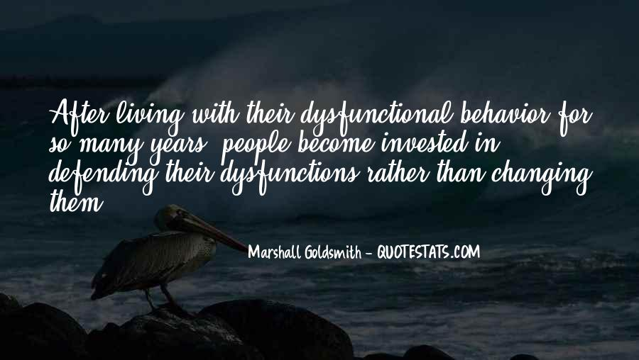 Quotes About Changing Behavior #11121