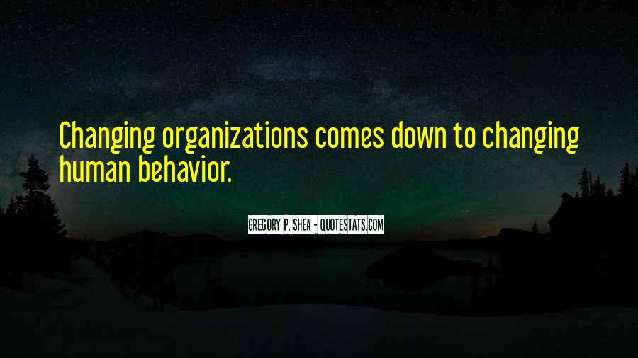 Quotes About Changing Behavior #1114998